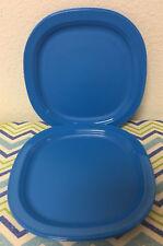 "Tupperware Luncheon Plates Set of 4 Microwave Reheatable 7 3/4"" Bpa Free New"