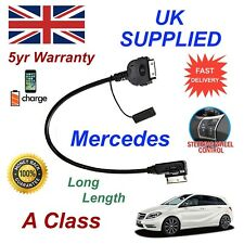 Mercedes A Class A0018279204 Audio Cable iPhone 3GS 4 4GS ipod Long 1.2m