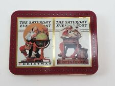 Norman Rockwell Christmas Saturday Evening Post Playing Cards
