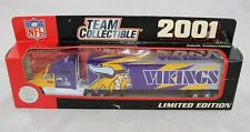 Vintage 2001 Minnesota Vikings Tractor Trailer Semi Truck NFL