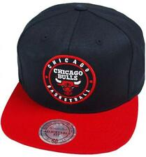 Mitchell & Ness Chicago Bulls 2 COLORES Círculo Parche hud055 Gorra Osfa