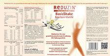 25 Diät Shake, Protein Shake, Basiskost mit Diätplan. Von Reduzin