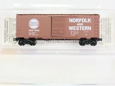 N Scale Mtl Micro-Trains 20039 N&W Norfolk Western 40' Box Car #53045 Rtr Model