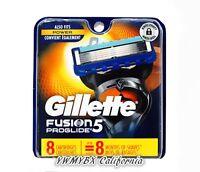 Gillette Fusion 5 Proglide Razor Refill 8 Cartridges, Brand New, #013
