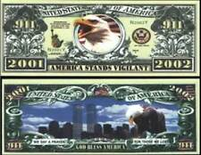OUR AFTER 911 TWIN TOWERS DOLLAR BILL (2 Bills)