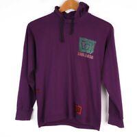 Vintage Kuta Lines 90s Kids Unisex Youth Small Purple Hoodie Surf Rare Australia