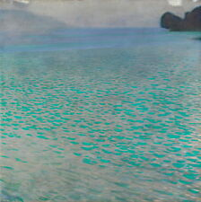 Gustav Klimt Attersee Giclee Canvas Print Paintings Poster Reproduction Copy