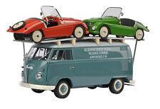 """#450027800 - Schuco VW T1 Bus """"Kleinschnittger"""" mit 2x F125 - 1:18"""