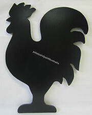 Rustic French Provincial Country Timber Rooster Black Board Chalkboard WRD185