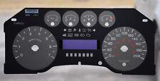 2009- 2010 FORD F150 -XLT - GAUGE OVERLAY/ FACEPLATE  PRND321 - KM /H  FOR SALE