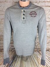 Abercrombie & Fitch Muscle Fit effet vieilli Sweat-shirt sz XL/Extra Large Homme