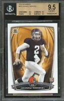 2014 bowman #r9 JOHNNY MANZIEL browns rookie card BGS 9.5 (9.5 9.5 10 9.5)