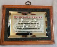 Musician's Prayer Wooden Wall Plaque Dicksons