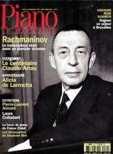 Piano magazine n° 34 avec CD - Mai-Juin 2003 - Serge Rachmaninov