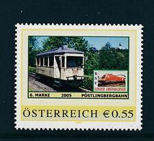 6.person.Marke des  BSV-Linzer Eisenbahn-Verein, Pöstlingbergbahn, Zug, 1/5/15