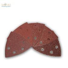 de 50 Paquet scratch papier abrasif feuilles abrasives ponceuse triangle