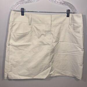 Adidas 14 Tan Khaki Sport New Golf Skirt Shorts Combo Skort Womens Ladies NWT