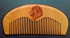 Handmade Comb,Fine Tooth Comb,Wood Comb,Lion,Comb,Beard Comb,Customized,Gifts