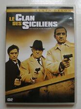 DVD LE CLAN DES SICILIENS - Alain DELON / Jean GABIN / Lino VENTURA - VERNEUIL