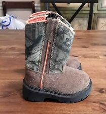 New Boy's Game Winner Scout Wellington Hunting Boots Realtree Xtra infant sz 5
