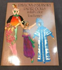 Vintage Pavlova & Nijinsky Paper Dolls Collection Full Color Tom Tierney