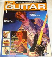 PLAY GUITAR MAGAZINE & CD - DEAGOSTINI PARTWORK - ISSUE 1 TO 39 - FREE P&P