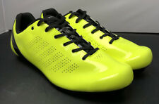 Louis Garneau L.A. 84 Spin Bike Shoes Black Yellow Mens Size 13.5 Fast Shipping
