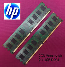2 x 1 GB (2GB) DDR1 memoria UPGRADE KIT RAM HP COMPAQ rp5000 computer POS