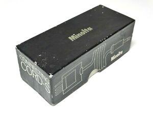 New Minolta Connecting Cord-S - For Minolta SR-M with Intervalometer - Rare!