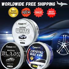 Car Wax 120ML Crystal Plating Set Hard Glossy Carnauba Wax Paint Care Coating