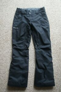 Patagonia Snowbelle Women's Insulated H2No Snow Ski Snowboard Pants Black Small