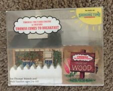 1992 Shining Time Thomas Train Wooden Thomas Comes to Breakfast House! New!