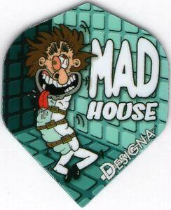 """MAD House"" Dart Flights: 3 per set"