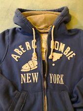 Abercrombie & fitch hoodie Original Felpa uomo tg M size 50ita Rare 100% cotton
