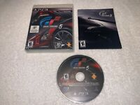 Gran Turismo 5 (Sony PlayStation 3, 2010) PS3 Game Complete LN Mint!
