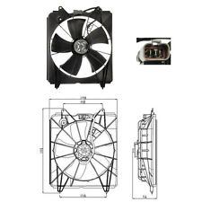 Cooling fan Assembly  (Radiator Fan) Fits: 2007 - 2009 Honda CR-V CRV L4 2.4L