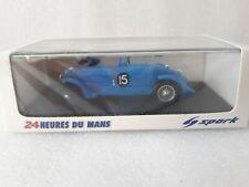 Spark 43LM38 1:43 Delahaye 135S 1st Le Mans 1938 Chaboud / Tremoulet