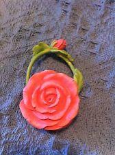 "Nos Avon ""All Dressed Up"" Miniature Matching Rose Handbag"