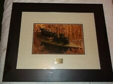 ne Ready & Waiting Signed  Numbered Photo 1378/5000 Mart Keanen  Ducks Unlimited