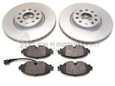 AUDI Q2 1.0 1.4 1.6 2.0 2016-2019 FRONT 2 BRAKE DISCS AND PADS (312MM DISC SIZE)