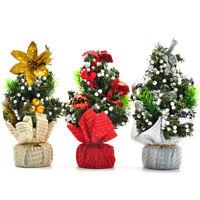 20cm Mini Christmas Tree Decor Desk Table Festival Party Ornament Xmas 1 Pcs