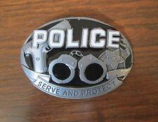 Police Belt Buckle Trade Policeman Cop Law Enforcement