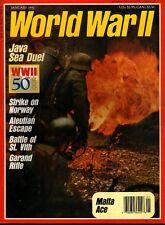 WORLD WAR II JAN 92 ST. VITH 7th ARMOURED / GARAND M-1 RIFLE / BEURLING MALTA