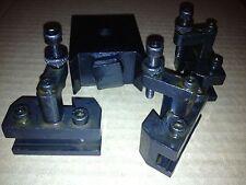 Schnellwechselhalter mit 3 Messerhaltern Drehmaschine, Emco und viele mehr