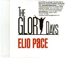 (DP450) Elio Pace, The Glory Days - 2012 DJ CD