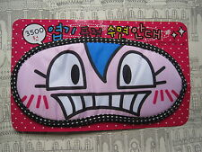 SHOW ME YOUR TEETH KAWAII CUTE EYE MANGA FACE SLEEP EYE BEDTIME MASK