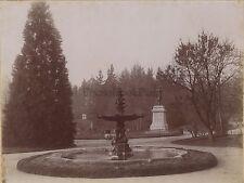 Garten Allard Montbrison Loire -statue Victor der laprade Vintage Citrat C 1900
