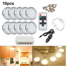 10PACK 12V LED Spot Interior Light For VW Camper Van Caravan Motorhome + Remote