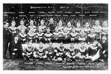 pt4402 - Bradford City A.F.C 1910-11 , Yorkshire - photo 6x4