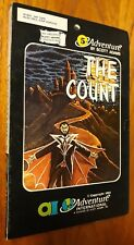 THE COUNT Scott Adams #5 text Adventure International AI Atari 24K 1981